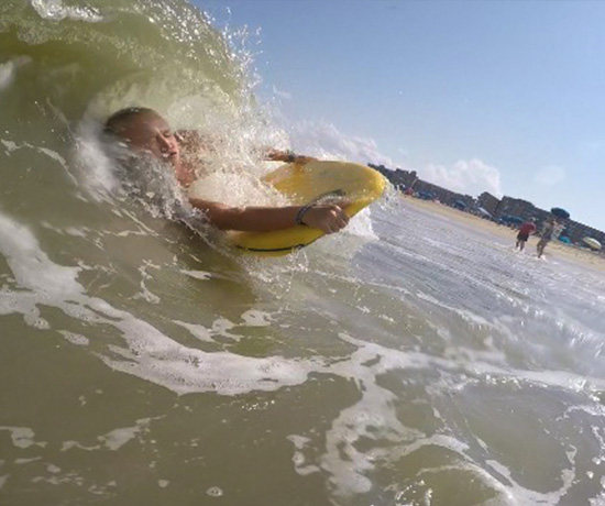 That S Sydney Yanick Summer Mantra As She Enthusiastically Shreds Any Wave Ride Able This 15 Year Old Delaware Resident Calls Bethany Beach